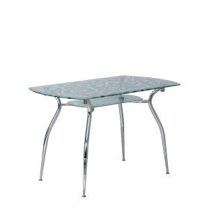 CRISTAL P Decor chrome обеденный стол