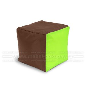 ПУФ-КУБ OXFORD BROWN LIME