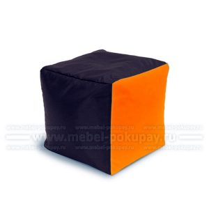 ПУФ-КУБ OXFORD BROWN ORANGE