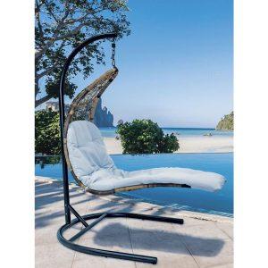 Кресло подвесное-шезлонг RELAXA (brown)