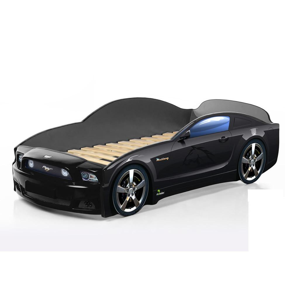 Кровать машинка мягкая фото