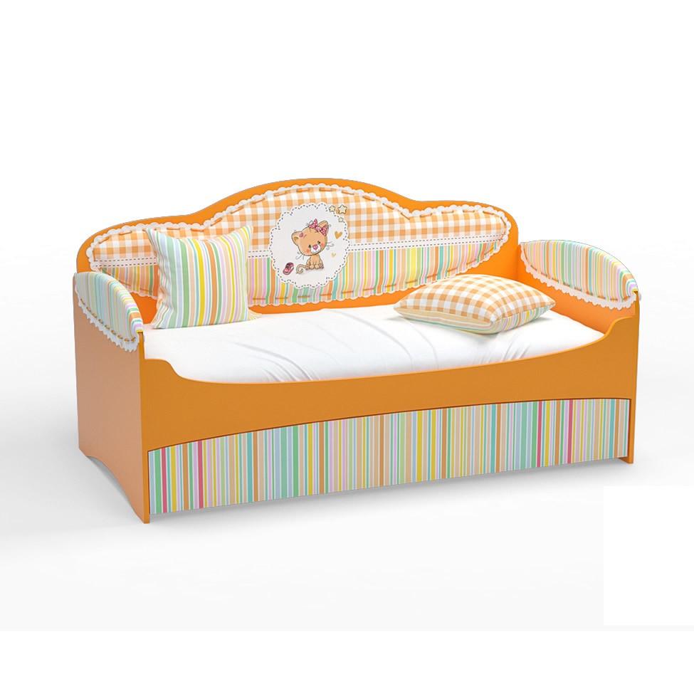 Диван-кровать для девочек Mia Манго