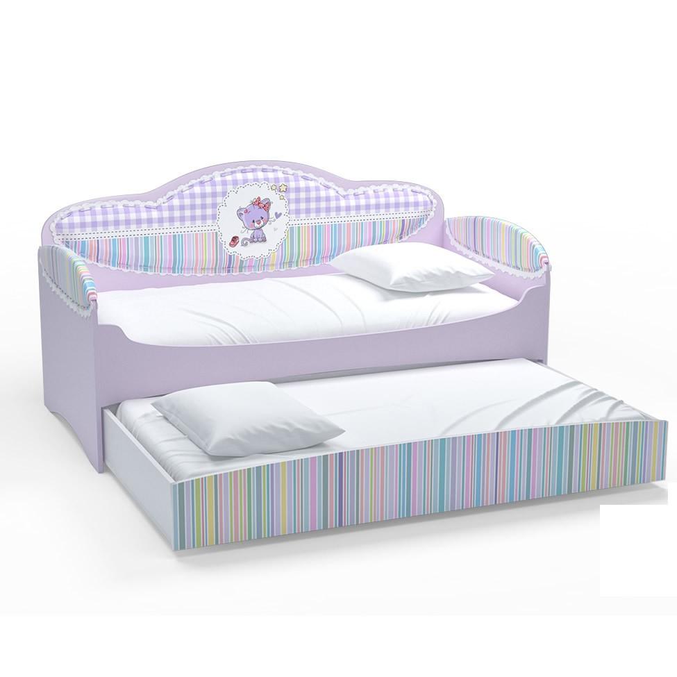 Диван-кровать для девочек Mia Сирень