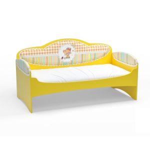 Диван-кровать для девочек Mia Желтый