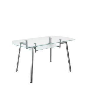 SPIDER P chrome обеденный стол